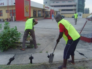 WE LOVE TO WORK, SELFLESS SERVICE