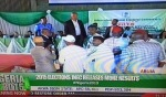 Jega Is Partial And Has Been Compromised Says PDP Official As He Disrupts INEC Result Announcement