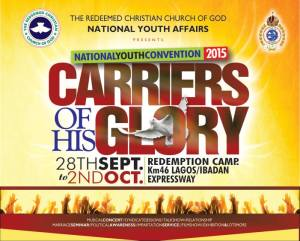 RCCG 2015 National Youth Convention. Carriers of His Glory