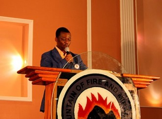 Mountain of Fire and Miracles Ministries' (MFM) General Overseer, Dr. Daniel Kolawole Olukoya